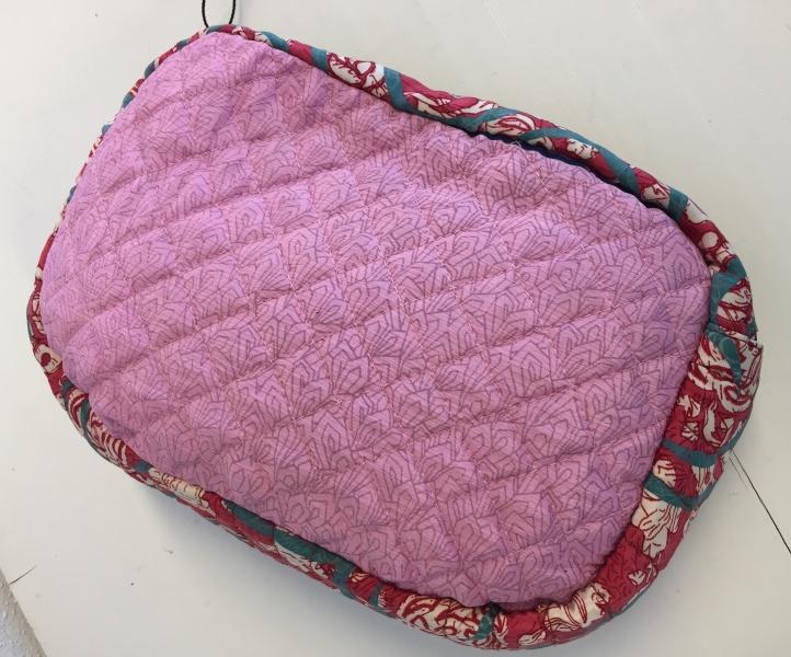Papaya Cosmetic Bag Rosa